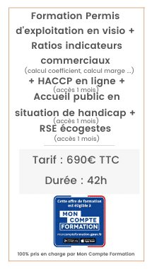 HACCP, Permis d'exploitation, PMR ERP, RSE