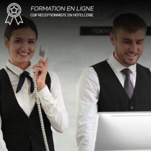 Formation CQP Réceptionniste