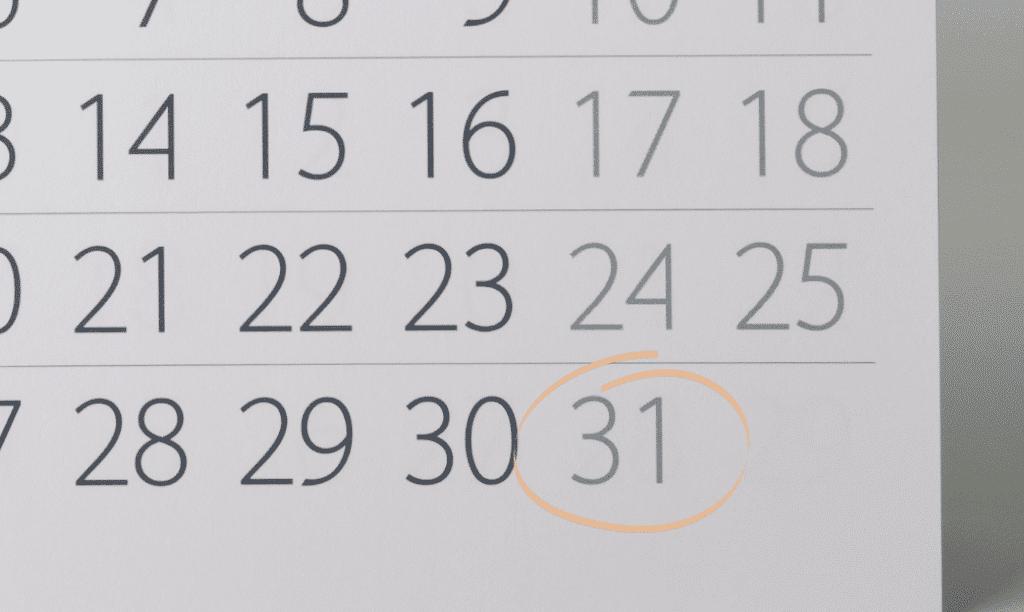 FNE 31 décembre