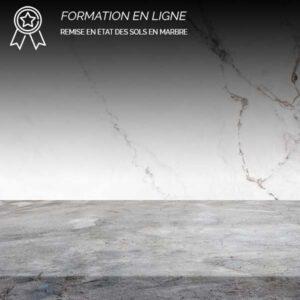 Formation en ligne remise en état des pierres marbrières