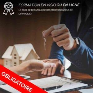 Formation Le code de déontologie de l'agent immobilier